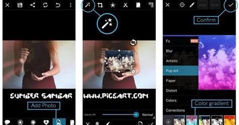 cara edit foto di photoshop menjadi keren cara mengedit foto menjadi keren di picsart
