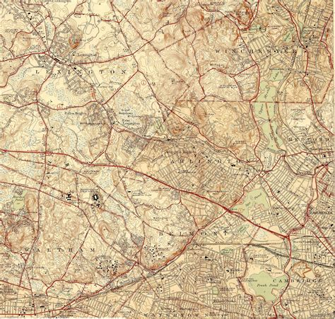 topographic map of file topographic maps of arlington belmont