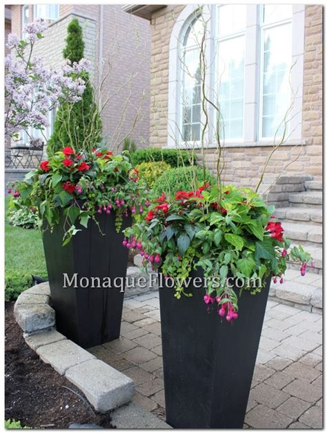 monaque flowers inc outdoor planter