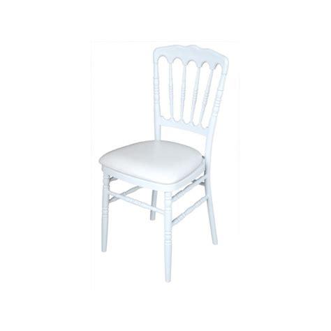 chaise napoléon location mobilier de r 233 ception chaise napol 233 on blanche