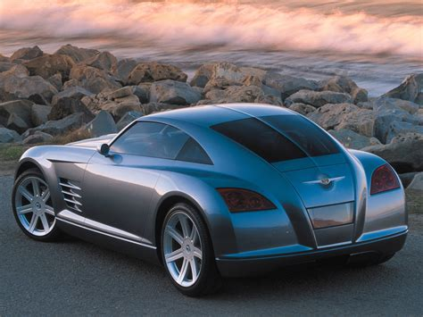 old chrysler chrysler crossfire concept 2001 old concept cars