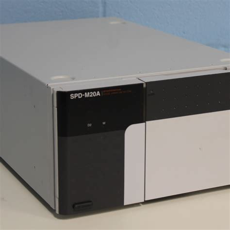photo diode array detector in hplc shimadzu spd m20a photodiode array detector