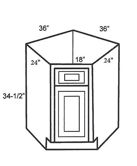 Discount Rta Kitchen Cabinets by Bdcf36 Base Corner Cabinets Base Diagonal Corner Cabinet