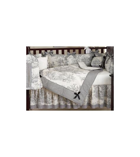 jojo crib bedding sweet jojo designs toile 9 piece crib bedding set