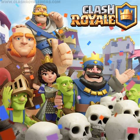 Lançamento Global de Clash Royale   Baixe agora!   Clash