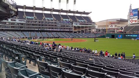 section 117 progressive field progressive field section 121 rateyourseats com