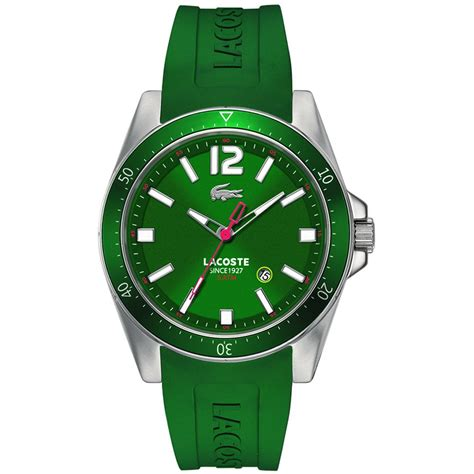 lacoste 2010663 s green seattle with steel