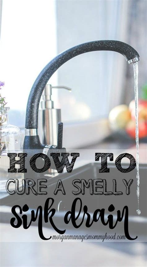 how to clean a smelly drain in bathroom sink 1000 images about make your own cleaners and cleaning