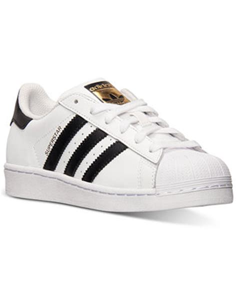 adidas big boys superstar casual sneakers from finish line finish line athletic shoes