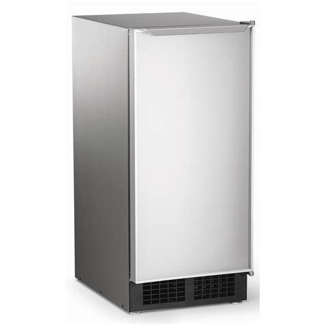 under cabinet ice maker with pump dce33pa 1ssd scotsman 15 quot ice machine w pump stainless