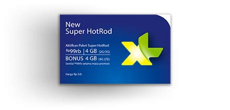Kartu Perdana Xl 5 Gb For 3g tarif paket hotrod 4g lte xl dan cara mengaktifkannya jeripurba