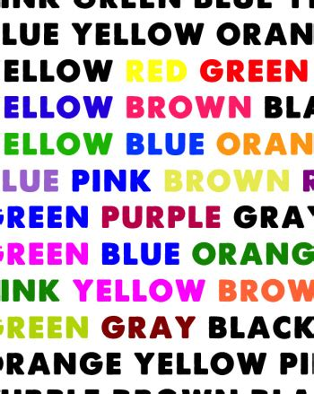how does color affect memory does text color affect readability science project