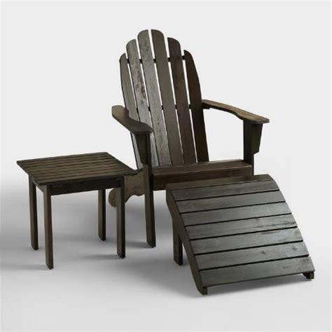 Adirondack Chairs World Market by Espresso Adirondack Chair World Market