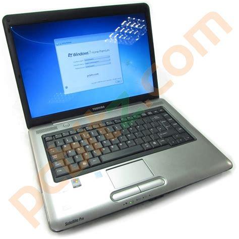 toshiba satellite pro a300 2 duo 1 80ghz 4gb 250gb windows 7 15 4 quot laptop refurbished laptops