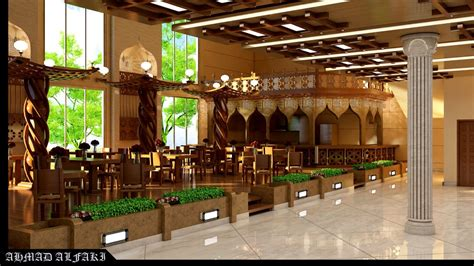 Interior design Islamic Restaurants 555 ????? ??????? by: Ahmad Elfaki Rehla.me Ahmad Elfaki