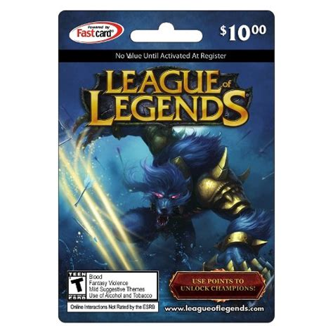 League Of Legends Rp Gift Card - 10 1380 rp league of legends us game card best offer