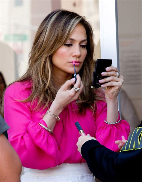 jennifer lopez what color lip gloss does she wear who knew jennifer lopez was the diy type here s
