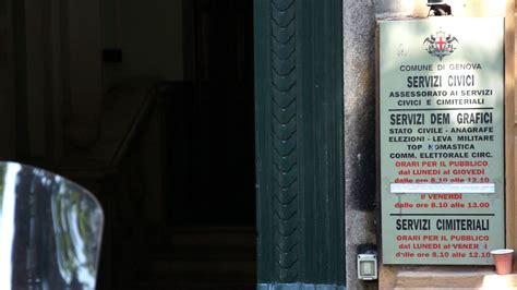 comune di genova ufficio anagrafe la citt 224 in comune 1 i servizi civici comune di genova