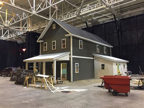 farmhouse nears completion at great big home