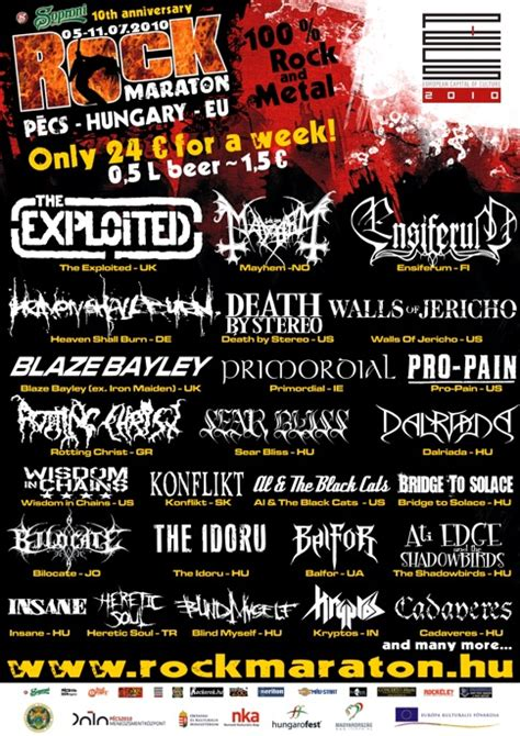 rockmaraton  metal festivals