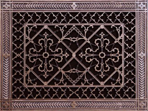 decorative wall register floor register grilles arts and crafts