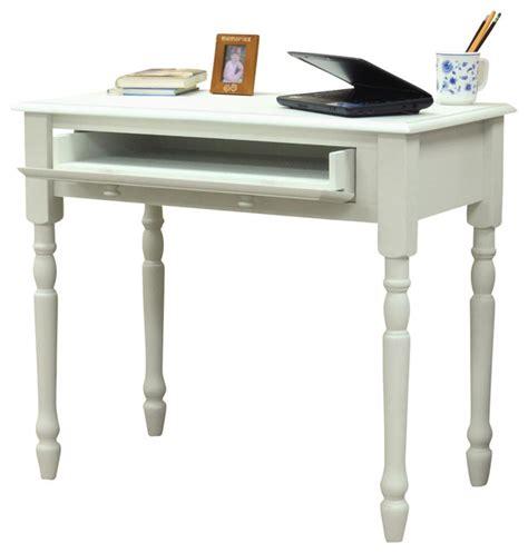 flip open drawer desk w turned legs traditional desks
