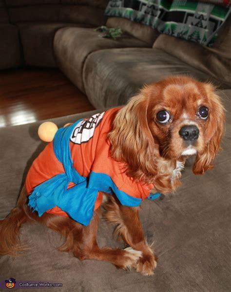 super saiyan goku dog costume