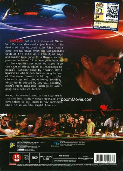 film malaysia langgar langgar dvd malay movie 2013 cast by adi putra hans