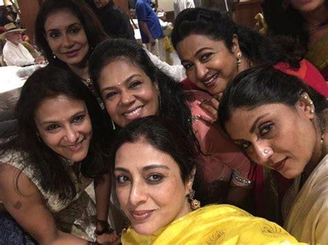 actress sripriya instagram doesn t tabu s saree squad look incredible lifestyle news
