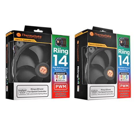 best static pressure rgb fans thermaltake riing 14 led radiator fan rgb 256 colors high