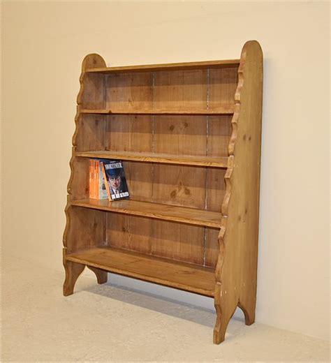 antique pine bookshelves pine waterfall bookcase antiques atlas