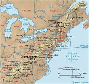 map of eastern us mountain ranges gc20kvy eastern continental divide earthcache in