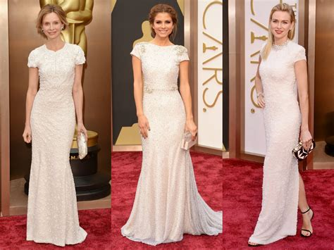 Oscars Carpet Calista Flockhart by Arizona Carpet Fashion Oscars 2014