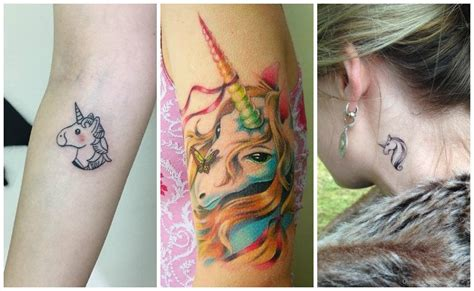 imagenes de unicornio para tatuajes tatuajes de unicornios dise 241 os y significados del caballo