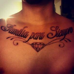 diamond tattoo in chest diamond tattoos on chest