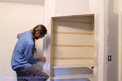 Building A Corner Pantry by Diy Corner Pantry Hometalk