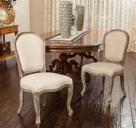french provincial dining room chairs  curvy