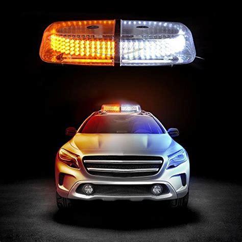 construction truck strobe lights zento deals dual color amber white 240 led snow plow