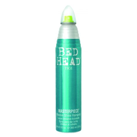 bed head hair gel tigi bed head masterpiece massive shine hair spray