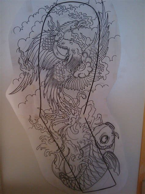 tattoo sleeve drawings japanese sleeve by dude skinz tattooing on