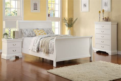 full size white bedroom sets 3pc full size white louis philippe bed chest night stand