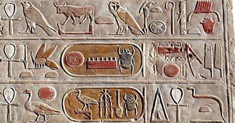 imagenes de egipcios antiguos 191 son los antiguos jerogl 237 ficos egipcios una lengua
