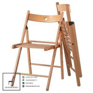 Kursi Lipat Jati Jepara harga kursi lipat kayu jati murah kursi cafe terbaru