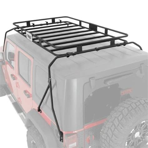 warrior products roof rack warrior products 858 45 x 55 x 5 safari roof rack for jeep tj 97 06 charles c norwoodert