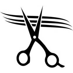 Scissors cutting hair icons free download