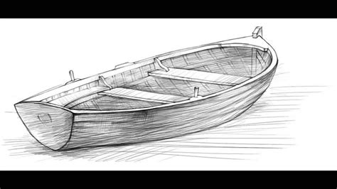 boat with drawing how to draw a boat youtube