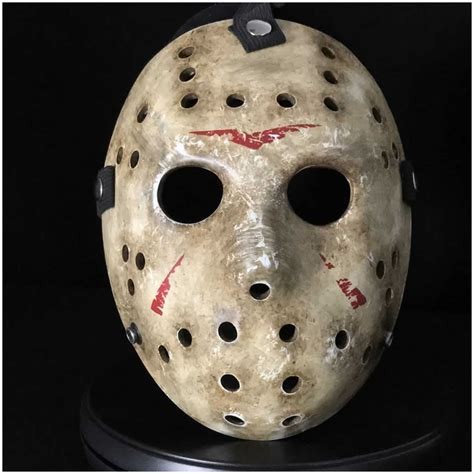jason hockey auz jason hockey mask 2009 remake screen accurate replica