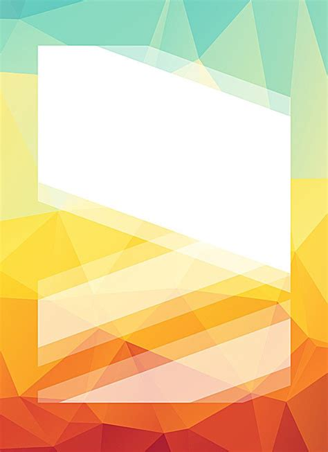 colorful geometric gradient business background vector