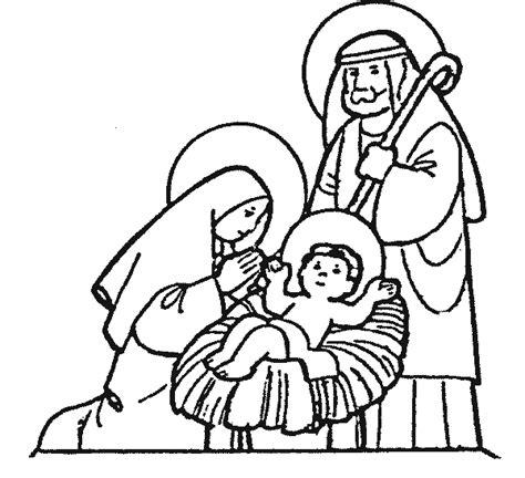 imagenes del nacimiento de jesus para pintar dibujos de pesebres navide 241 os para colorear belenes