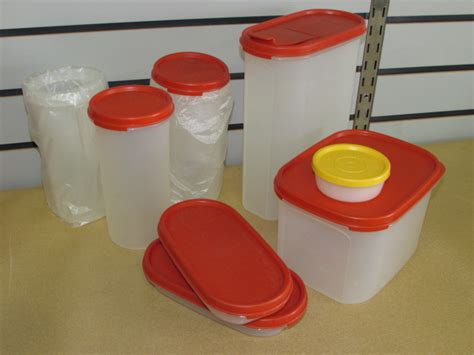 Limited Item Tupperware Assorted Container lot detail large assortment of storage containers tupperware rubbermaid ikea primarily new
